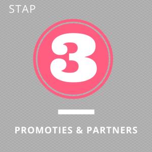 3. Promoties & Partners